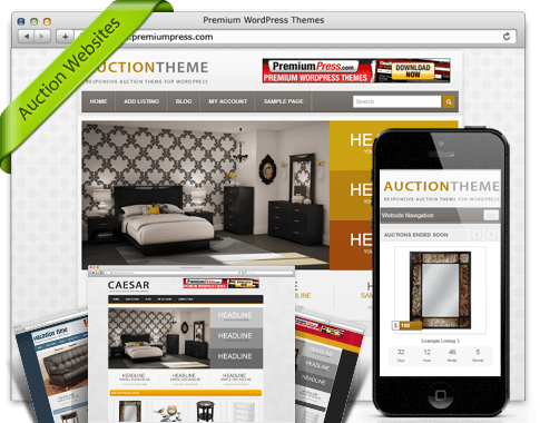 Best WordPress Auction Themes