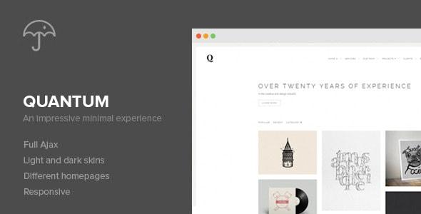 Quantum reponsive wp theme