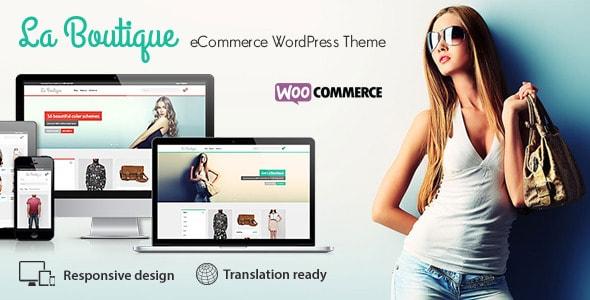 La Boutique WooCommerce WP responsive theme