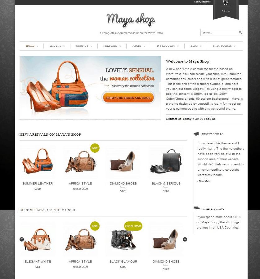 MayaShop-A-Flexible-Responsive-e-Commerce-Theme