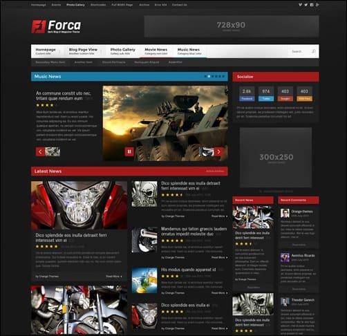 forca wordpress theme