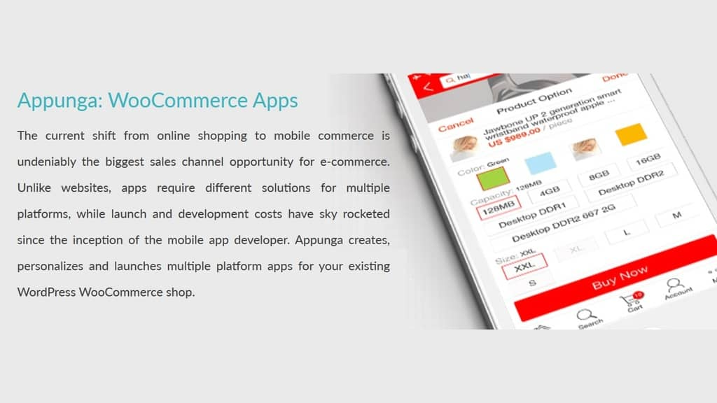 Kickstarter Project Appunga for WooCommerce Mobile App