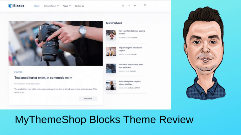 MyThemeShop Blocks Theme Review