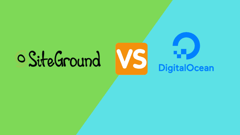 SiteGround vs DigitalOcean From WordPress Hosting Perspective