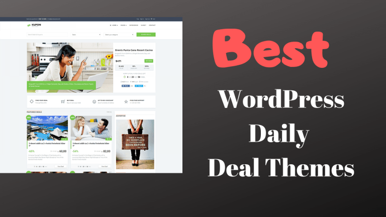 Best WordPress Daily Deal Themes For 2019