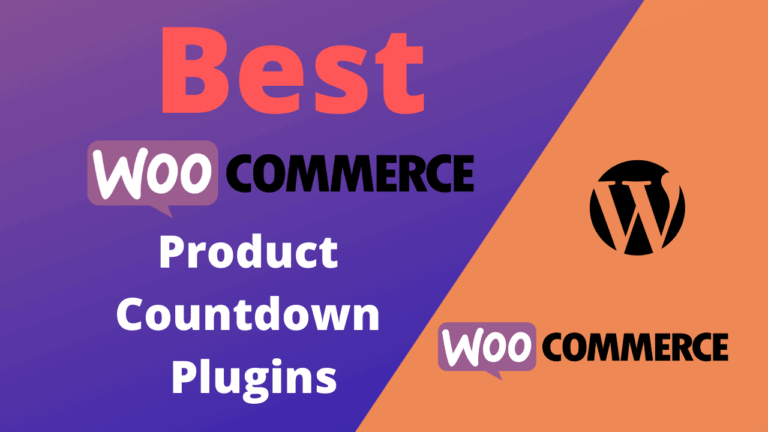 Best WooCommerce Product Countdown Plugins (Free & Paid)