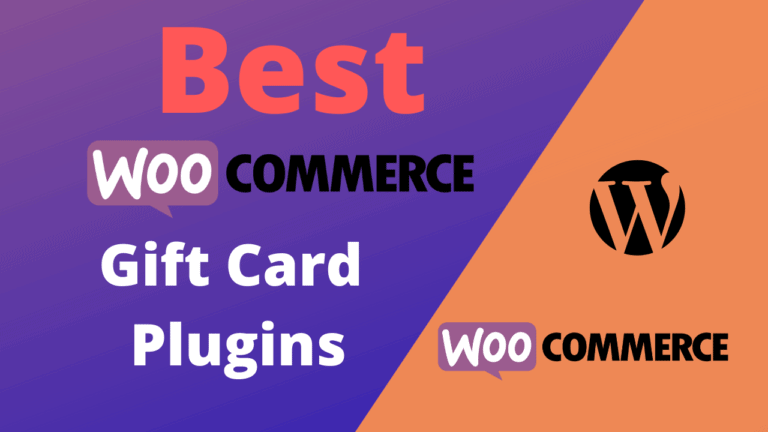 Best WooCommerce Gift Card Plugins (Free & Paid)